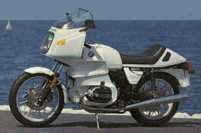 BMW R 100RS technical specifications